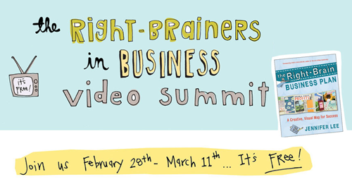 The Right-Brainers in Business Video Summit