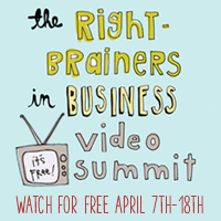 Right-Brainers in Business Video Summit